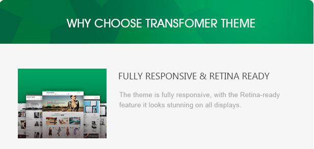 why choose transformer theme 1 1 - Transformer Responsive Prestashop Theme